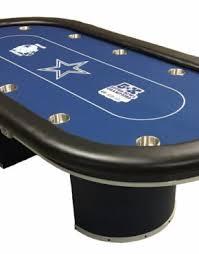 Dallas Cowboys Pool Table Felt by Sports Themed Custom Poker Tables Thebestpokersite Com