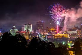 fourth of july events and fireworks in asheville n c