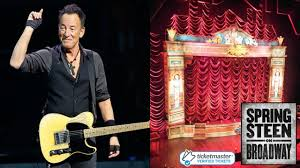 bruce springsteen verified fan bruce springsteen on broadway ticketmaster nitemare youtube