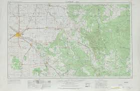 United States Topographical Map by Lubbock Topographic Map Sheet United States 1965 Full Size