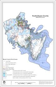 flood maps bryan county