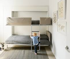 Bunk Bed Systems Bunk Murphy Beds Pertaining To Bed Herpowerhustle Plan 16