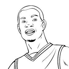 amazing basketball player coloring pages with lebron james