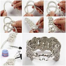 braid hand bracelet images How to make easy braided leather bracelet jpg