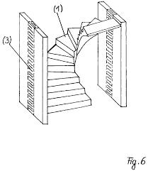 halbgewendelte treppe konstruieren viertel und halbgewendelte treppen patent 1065332