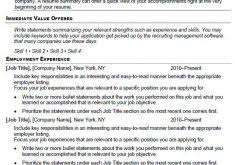 Copy And Paste Resume Templates Simple Resume Template Word Resume Example