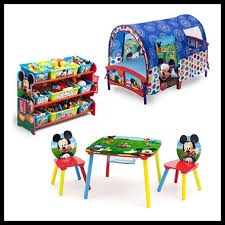 delta children mickey mouse 3 piece toddler tent bedroom set