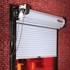 Overhead Rolling Doors Rolling Steel Service Doors Industrial Duty Non Insulated