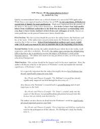 ideas collection recommendation letter for immigration purposes