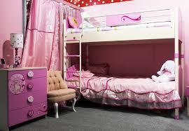 Bunk Beds Pink Bedroom Design Bedroom With Bunk Beds In Pink Design
