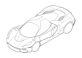 pagani drawing mystery ferrari supercar pops up on patent filing by car magazine