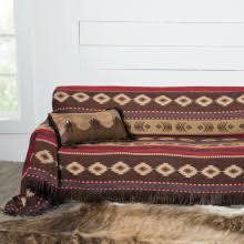 western throws for sofas western and horse themed furniture throws