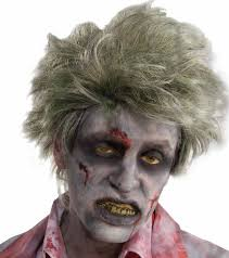 zombie grave wig short halloween costume accessory ghost dead man