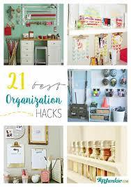 Organizatoin Hacks 21 Best Organization Hacks Organize Tip Junkie