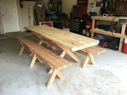 picnic table plans detached benches benches picnic tables with separate benches diy table picnic