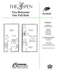 Two Bedroom Floor Plans One Bath Floor Plans