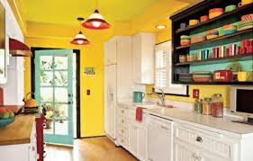 cuisine jaune et blanche supérieur cuisine blanche et jaune 2 couleur peinture cuisine 66