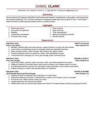 Data Entry Job Resume Samples by Retail Resume Example Entry Level Http Www Resumecareer Info