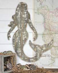 wooden mermaid wall best 25 mermaid wall ideas on mermaid