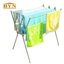 Folding Clothes Dryer Rack Online Get Cheap Metal Clothes Drying Rack Aliexpress Com