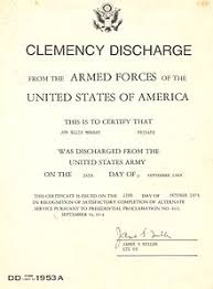 honorable discharge certificate discharge