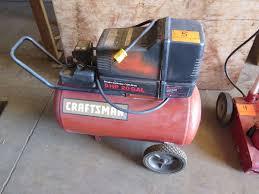 Craftsman 3 Gallon Air Compressor Craftsman 5 Hp 20 Gallon Air Compressor Oahu Auctions