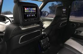 vizualogic android tablet headrest system new rear seat