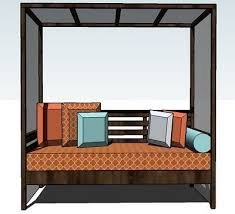 Outdoor Daybed With Canopy 11 Best Outdoor Daybed With Canopy Images On Pinterest Outdoor