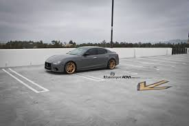 custom maserati maserati ghibli s q4 on adv5 2 polished bronze r1 motorsport