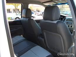 toyota leather seats toyota tacoma seat covers clazzio seat covers