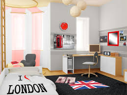 style de chambre pour ado fille frais deco chambre enfant avec horloge design salon decoration