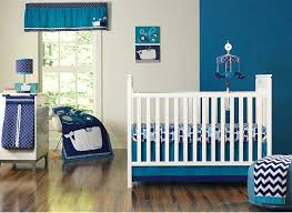 happy chic baby by jonathan adler party whale crib bedding