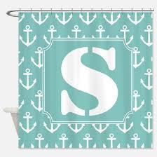 Monogram Shower Curtains Monogrammed S Shower Curtains Monogrammed S Fabric Shower