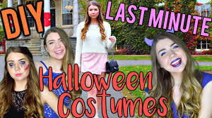 diy last minute halloween costume ideas for teens easy cute and