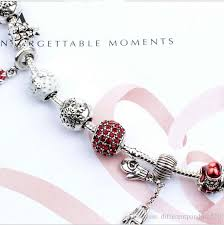 red charm bracelet images 2017 newest popular red charm bracelets style of christmas jpg