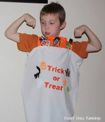 Chica Halloween Costume Minute Costume Idea Trick Treat Candy Bag Desert Chica