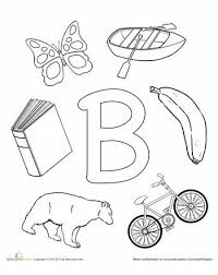 b is for letter worksheets worksheets and activities