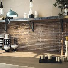 Steampunk Kitchen Faucet by Luxury Brick Effect Kitchen Wall Tiles Taste