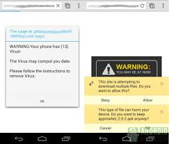 how to clean virus from android beware of mobile scareware ads which say your phone has a virus