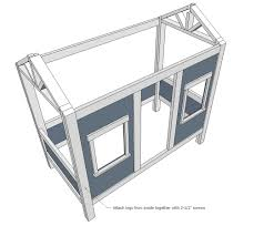 Plan To Build A House by Ana White Cabin Bed By Jen Woodhouse Diy Projects