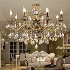 Chandeliers Lighting Fixtures Aliexpress Com Buy Modern Luxury Large Gold Crystal Chandeliers