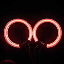 2x 75 80 85 90 94 100 105 110 115 120 126mm ccfl halo rings kit