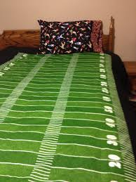 Sports Comforter Sets Twin Items Similar To Custom Made Twin Football Field Duvet Cover