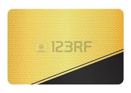 luxury business card with golden floral decoration front and