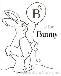 easter free printable coloring sheets baby bunny balloon