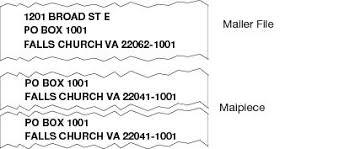 215 dual addresses postal explorer