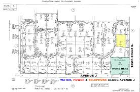 Los Angeles County Plat Maps by Los Angeles Land For Sale Real Estate For Sale In Lancaster
