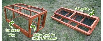 4ft Rabbit Hutch With Run 4ft Large Double Rabbit Hutch Deluxe Pet Hutches Cage Pets