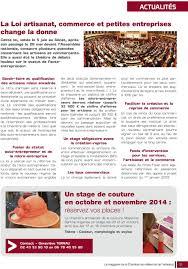 chambre des metiers 53 le magazine d information de la chambre de métiers et de l artisanat