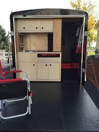 Cargo Trailer With Bathroom Cargo Trailer Camper Conversion Hometalk